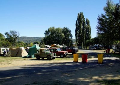 Cooma Showground ACT camp area