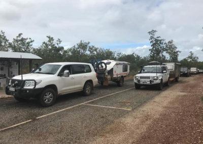 The convoy on the Cape — in Cape York, Queensland, Australia