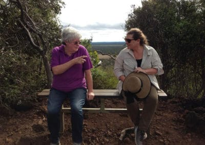 I think we came from that direction on the rim — at Kalkani Volcanic Crater