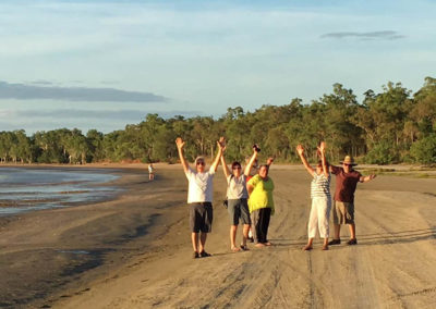 Hallelujah brothers and sisters! — in Weipa Cape York