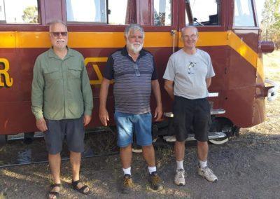 Gulflander lads — in Croydon, Queensland